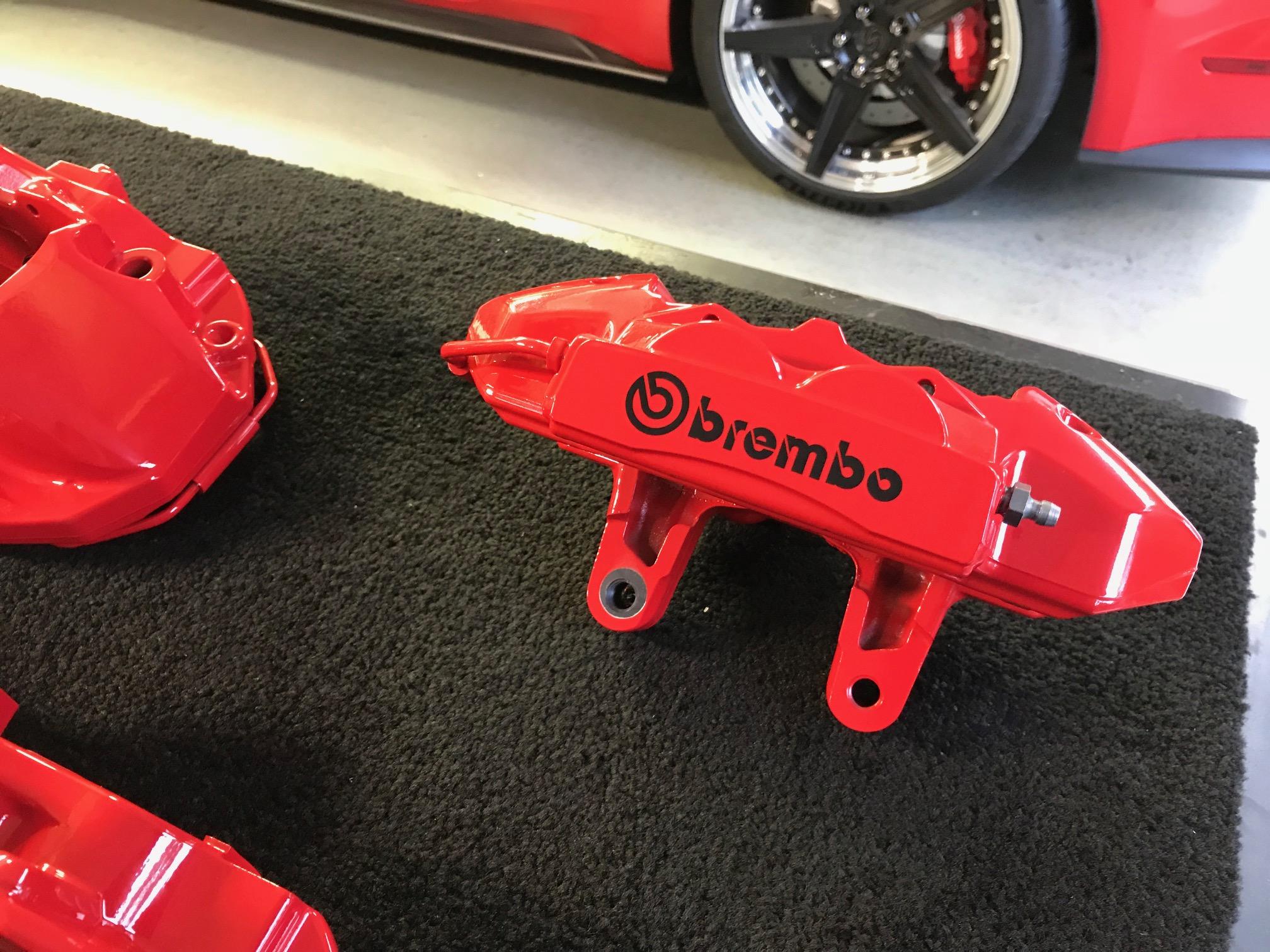 Shelby Gt350 Custom Brembo Brake Calipers Inquire Auto Fanatic